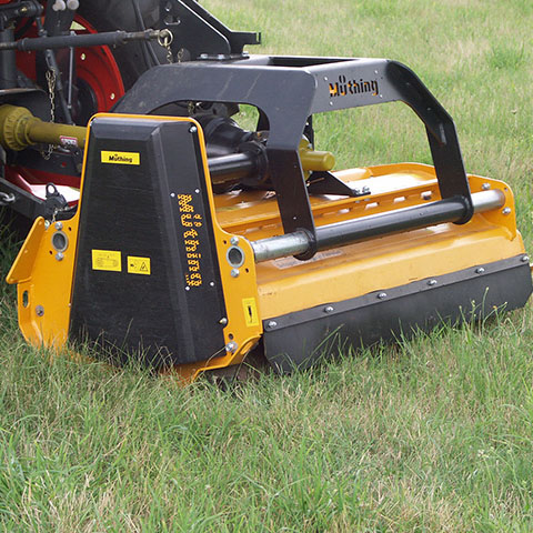 MU-H Vario Front and rear mounted mulcher