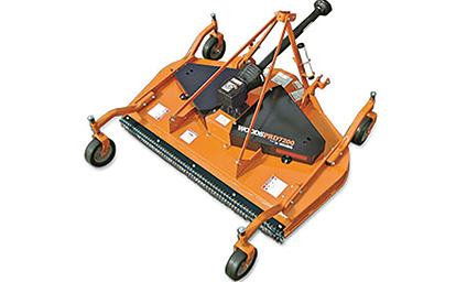 Woods rear discharge finish mowers