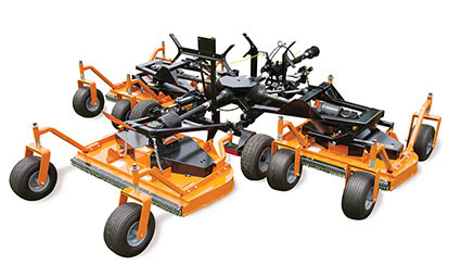 Woods turf Batwing® finish mowers